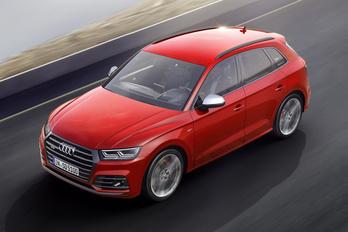 Megjött az új Audi SQ5