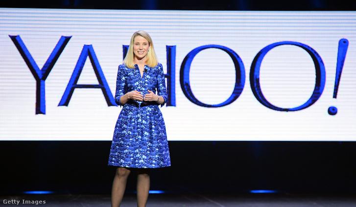 MArissa Mayer a (most még) Yahoo! vezére