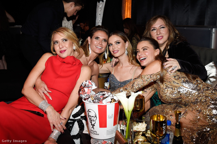 2017 Golden Globe party images