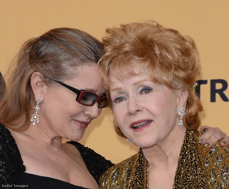 Carrie Fisher és Debbie Reynolds
