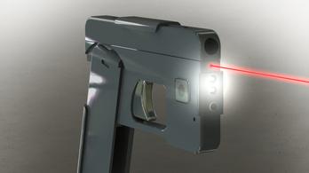 Jön az iPhone-nak látszó, összehajtható pisztoly