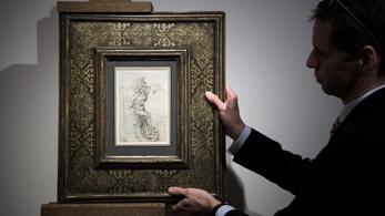 Franciaország megakadályozza Leonardo Da Vinci rajzának elárverezését
