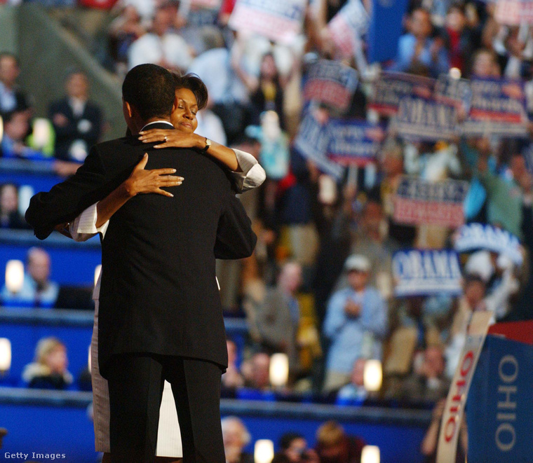 Ez a kép 2001-ben készült, amikor Barack Obama még csak szenátor volt
