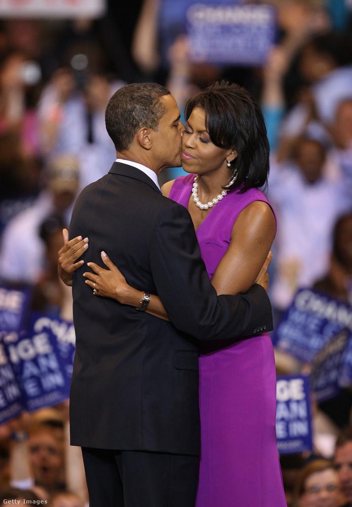 Obamáék sokat dolgoztak azért, hogy ez a kép bevésődjön róluk az amerikai választók agyába, mert tudták, hogy ez a kép rengeteg szavazatot hoz majd nekik.