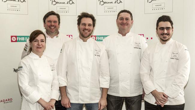 Heti hat napot gyakorol a szakácsverseny világdöntőjére Széll Tamás csapata