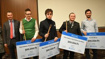 Gőbölyös Soma-díjat kaptak az Index oknyomozó újságírói