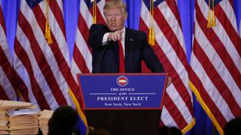Trump a CNN-nek: Maguk hírhamisítók