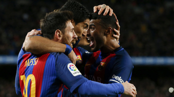 3 meccs, 3 szabad: újra Messi mentette meg a Barcát