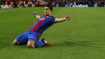 Suarez: 100 gól a Barcában