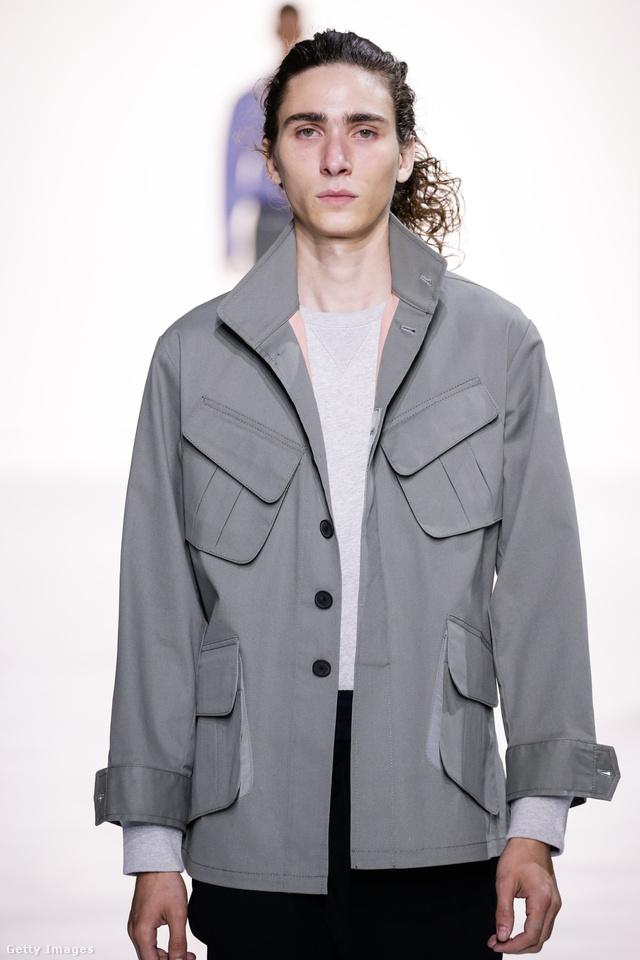 A 22 éves Briar Montana a Tim Coppens bemutatón New Yorkban.