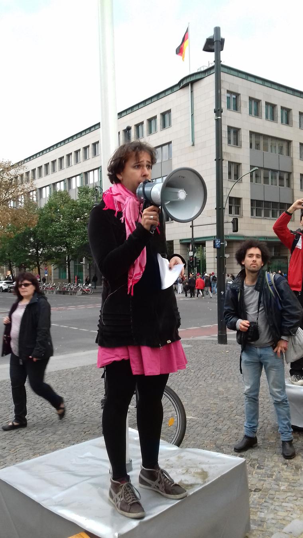 Vay Blanka aktivistaként Németországban