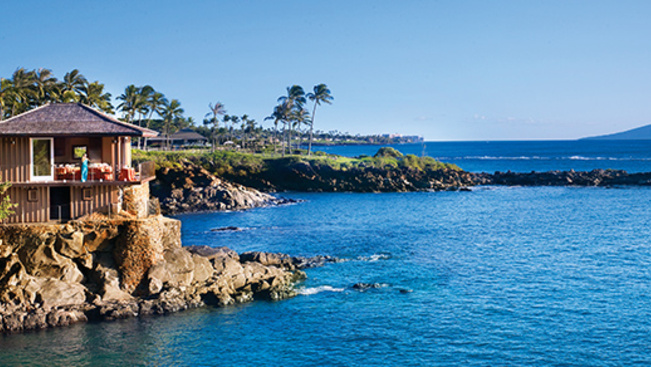 Luxuseljegyzés Hawaii-on üres gyűrűsdobozzal
