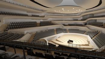 Megnyílt Hamburg óriási koncertpalotája, az Elbphilharmonie