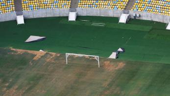 A riói olimpia óta csak pusztul a brazilok legnagyobb stadionja
