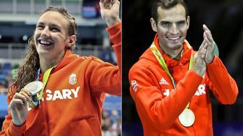Hosszú Katinka és Szilágyi Áron az év sportolói
