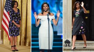 Divatos elnökfeleség volt Michelle Obama