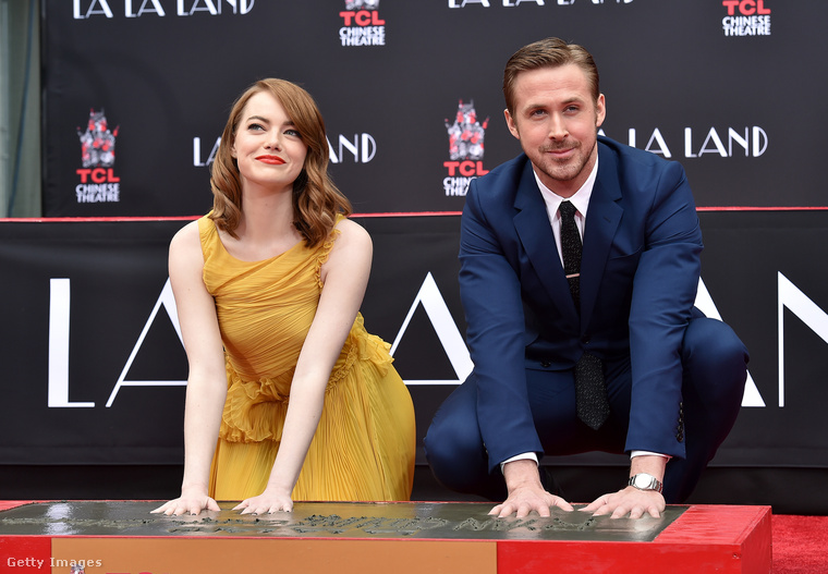 2016 decemberében az a megtiszteltetés érte őket, hogy kézlenyomatot vettek róluk a La La Land (Kaliforniai álom) premierjén