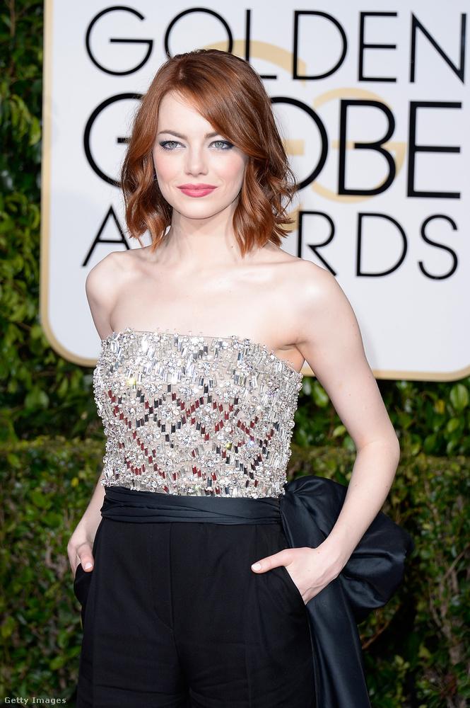 Emma Stone pedig idén megkapta élete első Golden Globe-díját is a Kalifornia Álomban nyújtott alakításáért, és az is lehetséges, hogy februárban az Oscar-díjat is megnyeri