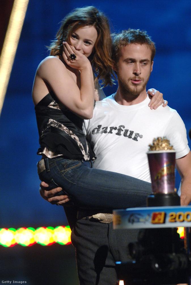 Az MTV Movie Awards 2005-ös díjátadó gáláján az egész világnak megmutatták, hogy mennyire szeretik egymást