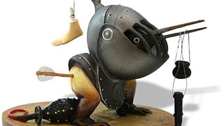 Fröccsöntött gagyik helyett vegyen Hieronymus Bosch-figurákat!