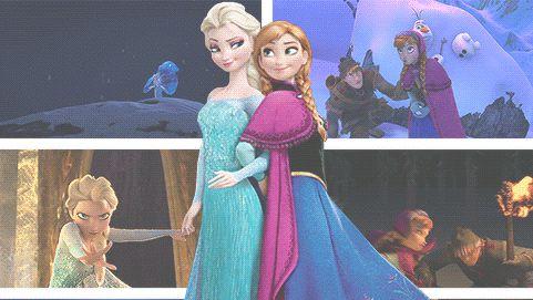 Elsa és Anna.