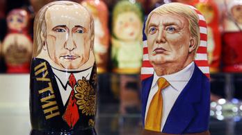Putyin nyíltan megvédte Trumpot