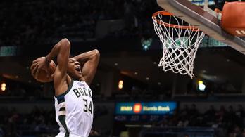 Mit művelt már megint a Görög Szörny az NBA-ben?