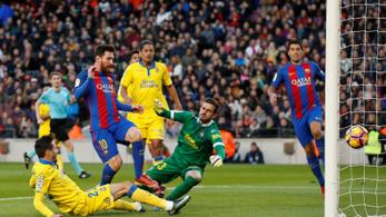 Barcelona: sima 5-0, Messi centikre volt a rekordtól