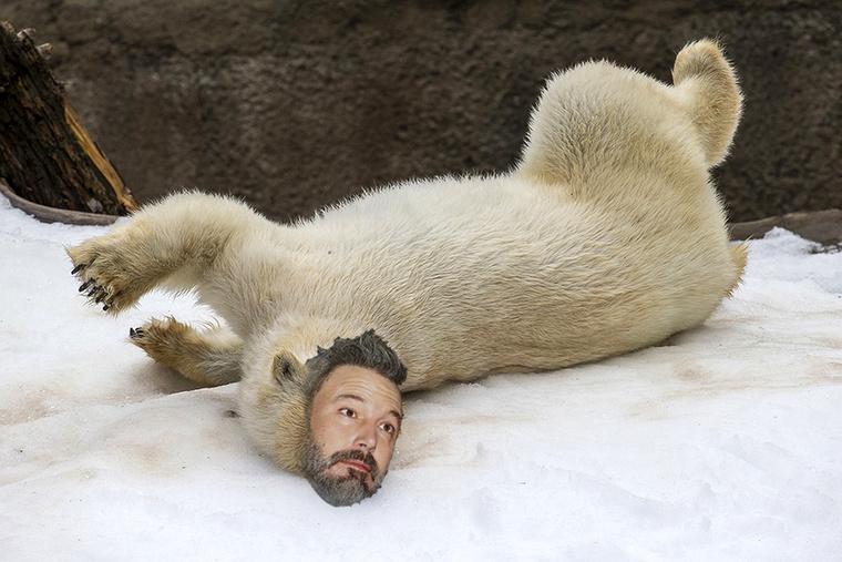 Megtudhattuk, hogy Ben Affleck életében egy forgatás közben jött el az a pillanat, amikor leginkább egy beteg jegesmedvére hasonlított.