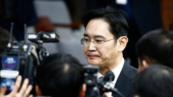 Letartóztatják a Samsung vezetőjét
