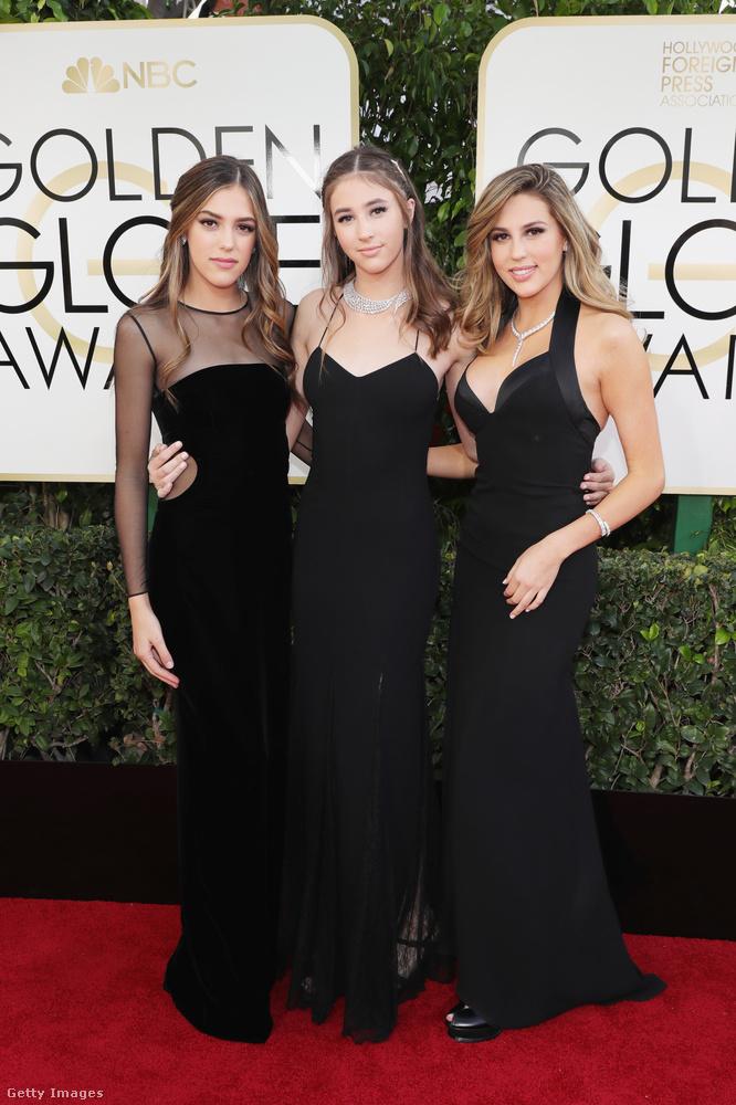Azt már megmutattuk, hogy mennyire  csodálatosak voltak a vörös szőnyegen Sylvester Stallone lányai az idei Golden Globe-díjátadón, de most még jobb fotókkal szolgálunk!