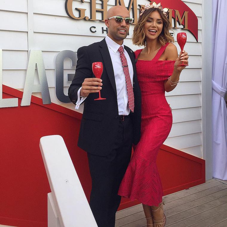 Emellett ő a G.H.Mumm francia pezsgőmárka nagykövete.