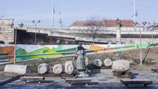 Így szaladt át a dermesztő hideg Budapesten