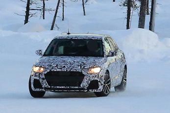 Kémfotókon a következő Audi A1