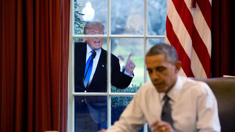 Obama alámerül, de nem tűnik el teljesen