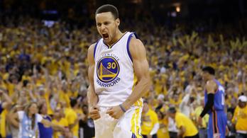 Curryék bosszút álltak: nagyon elverték LeBronékat