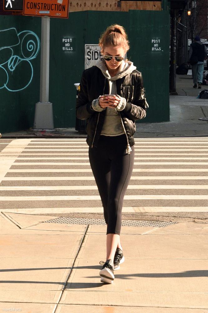 Gigi Hadid, a 21 éves amerikai modell törékeny alkatát látva az ember nem is feltételezné, hogy ha a helyzet úgy kívánja, keményen oda tud sózni.