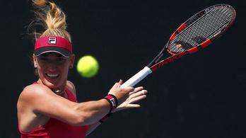 Babos már az első fordulóban kiesett az Australian Openen