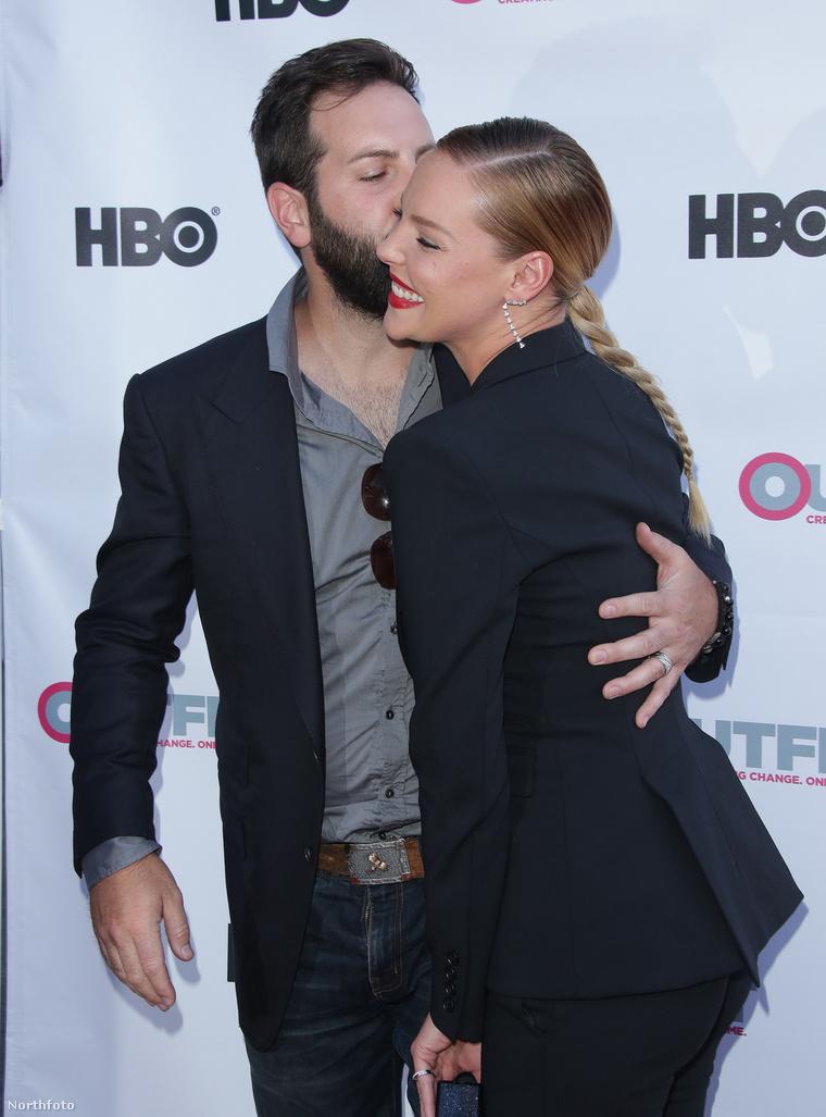A színésznő és férje nagyon boldogok.