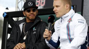 Hamilton is tövig nyomja, lássuk, mi lesz!