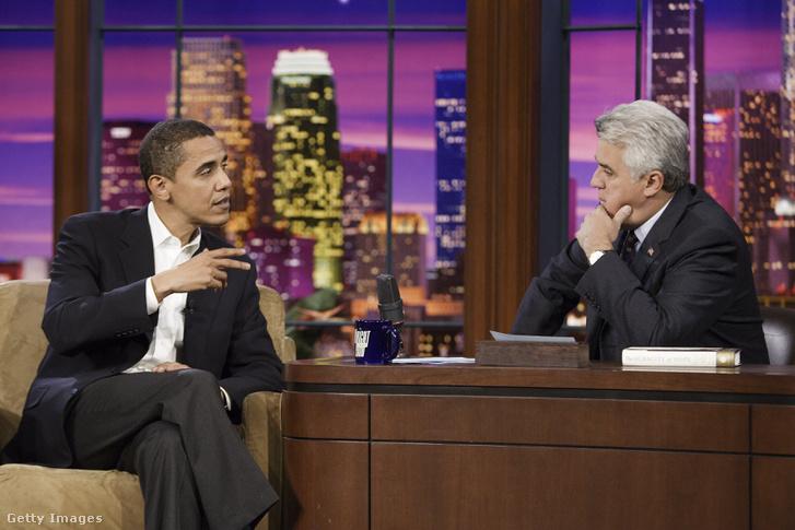 Barack Obama Jay Leno műsorában