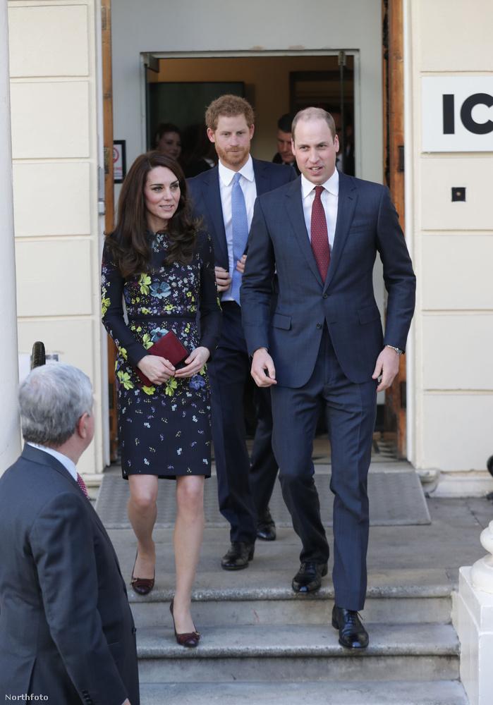 Katalin férje és sógora, Harry herceg társaságában debütáltatta a hajászati remekművet