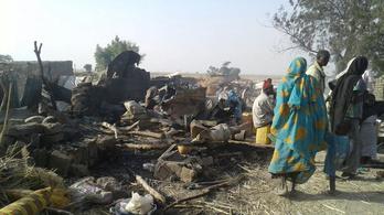 Menekültekre mértek légicsapást Nigériában, rengeteg a halott