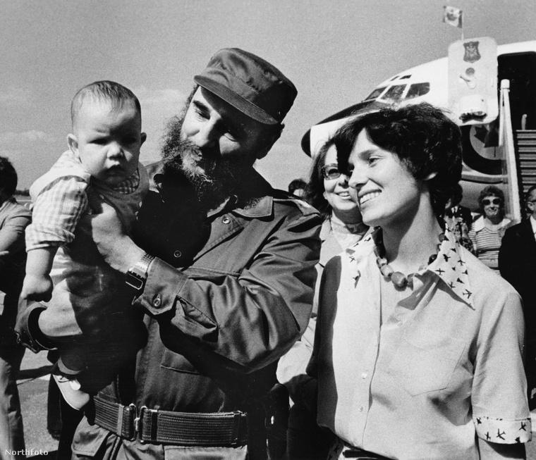 '76-ban Kubába utazott, ahova magával vitte legkisebb fiát, Michelt