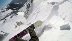 Felfújható hátizsák mentette meg a lavinában sodródó deszkás életét