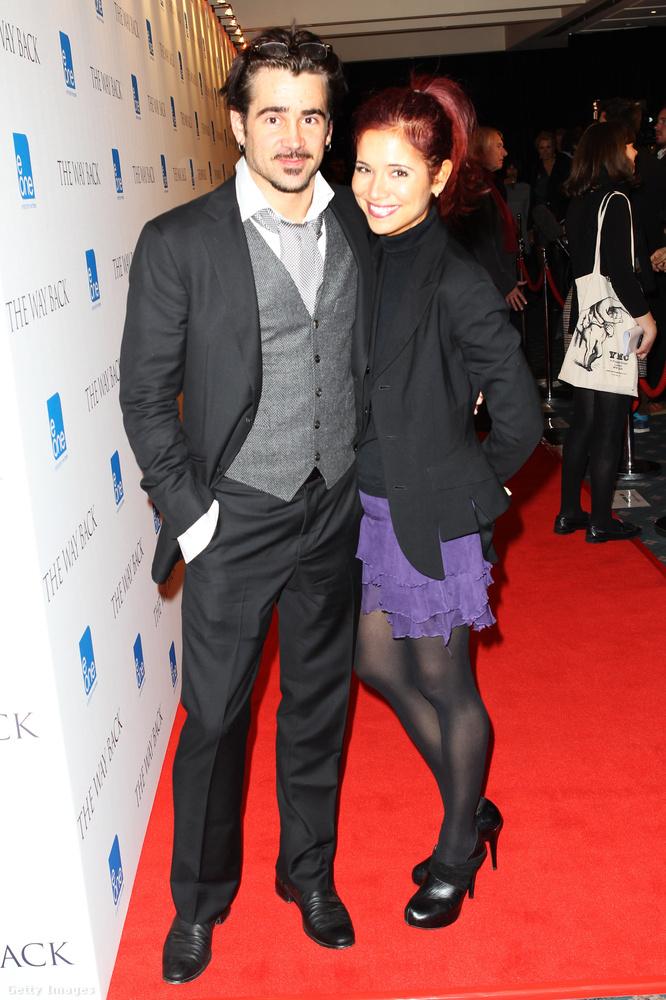 Colin Farrell nővére, a színésznél három évvel idősebb Claudine Farrell csak az egyik testvére a Golden Globe-díjas ír színésznek