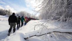 Turisták előtt elzárt helyekre szerveznek téli túrát a nemzeti parkok