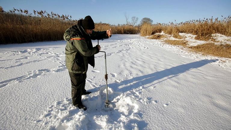 A lékhorgászat a legnyugisabb téli wellness