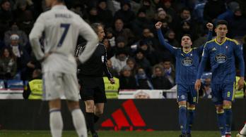 Megint meglepték a Real Madridot