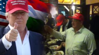 Jó hír Trumpnak: Németh Szilárd vele van!